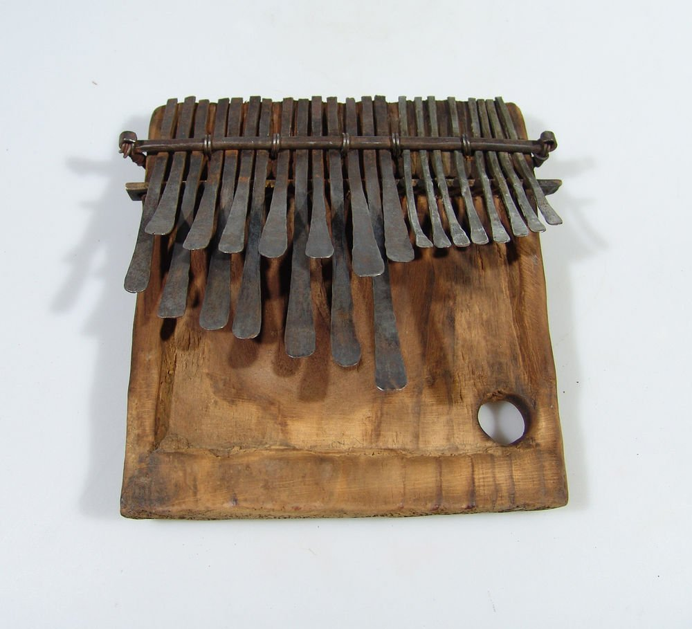 23 Key ANTIQUE Mbira/Thumb Piano/Karimba/Kalimba from Zimbabwe! #F8