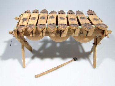 8 Key Shona Marimba / Xylophone from Zimbabwe - Hand Made.