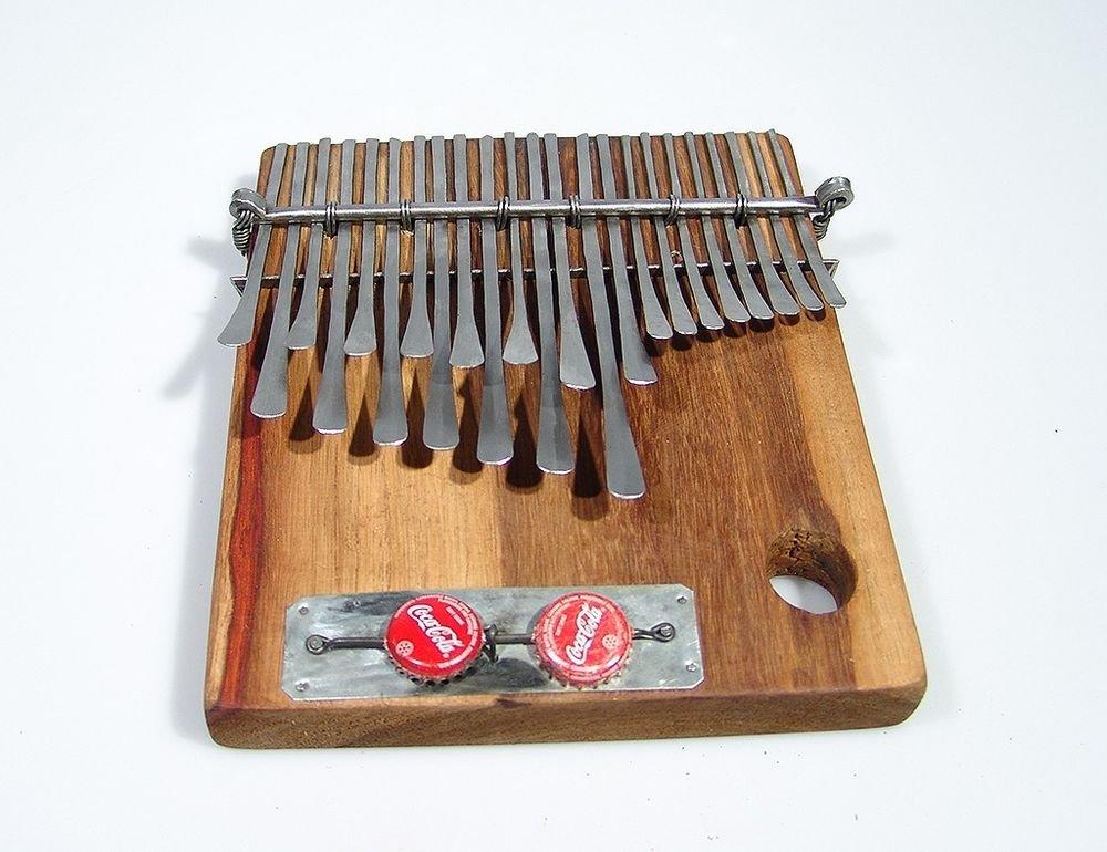 23 Key ELECTRIC Pickup Shona MBIRA Kalimba Thumb Piano ~Zim. SHIPS FROM USA!