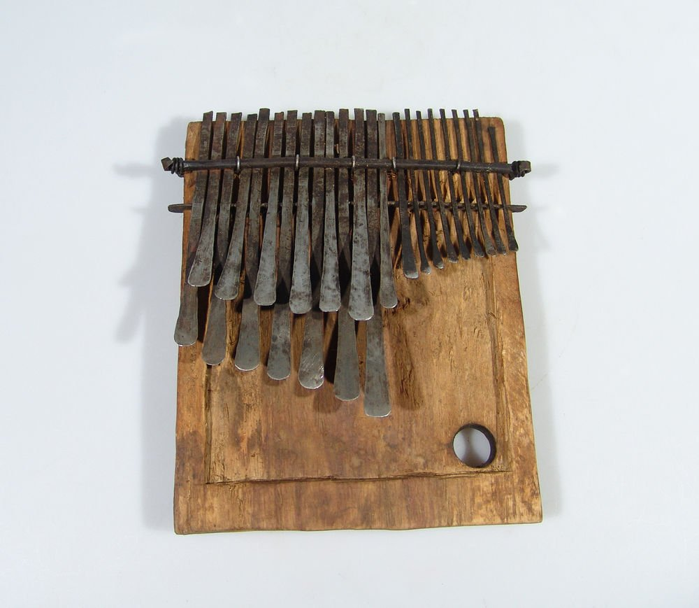 23 Key ANTIQUE Mbira/Thumb Piano/Karimba/Kalimba from Zimbabwe! #F2