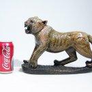 """African Leopard"" Serpentine Shona Stone Sculpture Handmade in Zimbabwe!"