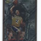Derek Fisher 96-97 Finest Rookie RC card #43
