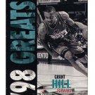 Grant Hill Ultra 98 Greats #256