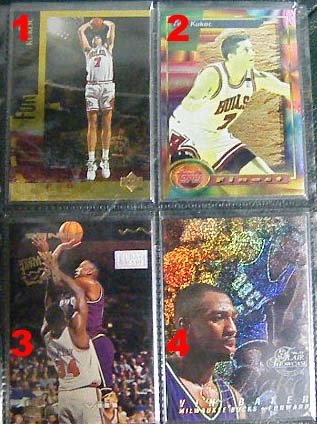 Vin Baker 96-97 Flair Showcase Row 0 #60