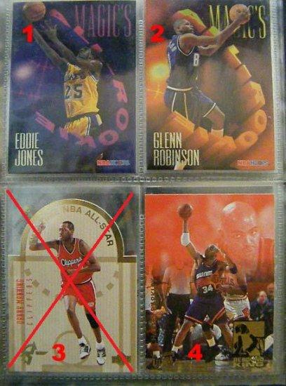 Eddie Jones 94-95 Hoops Magic's All Rookie RC Insert
