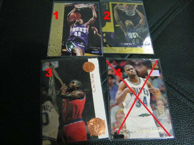 Vin Baker 94-95 Upper Deck Special Edition Gold #SE51