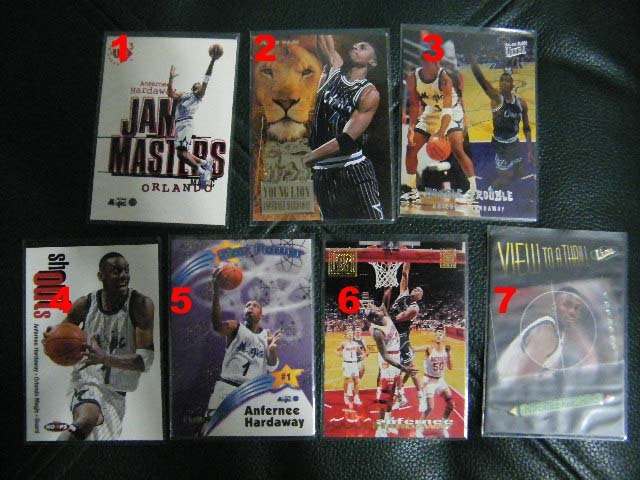 Anfernee Penny Hardaway 97-98 Ultra view to a thrill #7