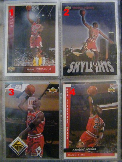 Michael Jordan 93-94 Upper Deck #438