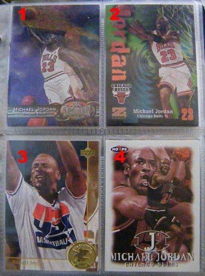 Michael Jordan 97-98 Z-Force #23