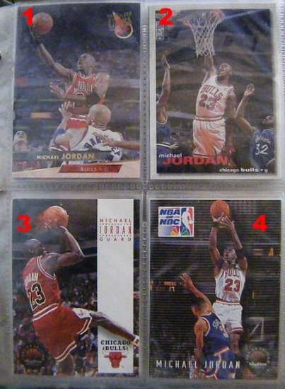 Michael Jordan 95-96 Upper Deck #45