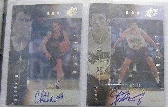 Chris Herren 99-00 SPx Autograph RC Rookie /2500