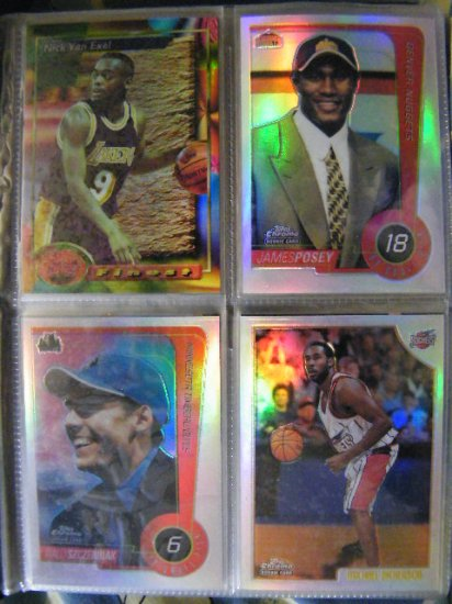 Michael Dickerson 98-99 Topps Chrome RC Rookie Refractor
