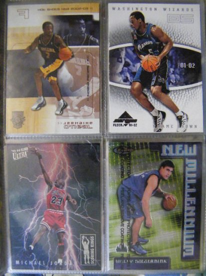 Kwame Brown 01-02 Fleer Marquee RC Rookie /1500