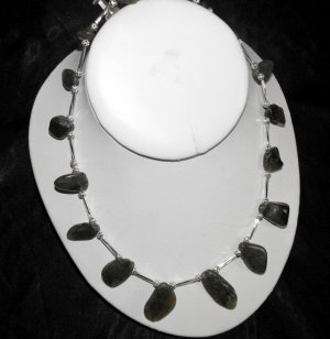 N33 Labradorite necklace  50% OFF