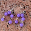E56 Lavender Chandelier Earrings
