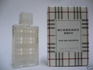 BURBERRY BRIT EDT PERFUME 5ml/.16 oz NEW BOX