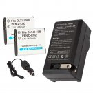 2x LI-50B Battery + Charger for Olympus Mju Tough 6020 8010 5010