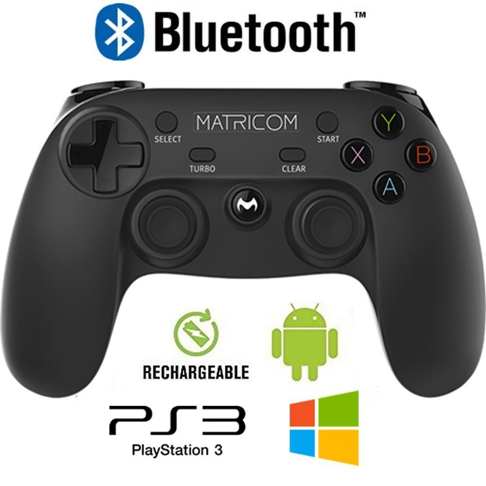 Matricom G-Pad XYBA Wireless Rechargeable Bluetooth Pro Game Pad Controller