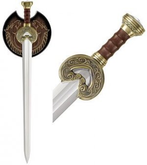 Herugrim The Sword of King Theoden Lord of the Rings