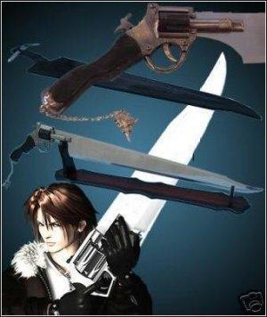 Final Fantasy - VIII Functional Gunblade