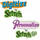 Amazing Designs DIGITIZE & PERSONALIZE STITCH Software