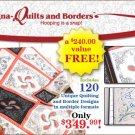 BERNINA MAGNA HOOP QUILTS & BORDERS KIT NIB for Artista 830