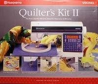 GENUINE HUSQVARNA VIKING QUILTERS KIT II # 4125415-01