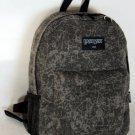 Canvas Backpack School Pack Day Bag Gray Hiking Camp Camping Travel Rucksack