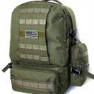 Military Molle Assault Tactical Backpack OLIVE Large Rucksack Backpack RT 508