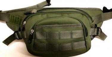 Fanny Pack Tactical Large Olive Travel Wallet Waist Hip  Belt Bum  Bag Pouch New