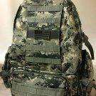 Military Molle Assault Tactical Backpack ACU Digital Large Rucksack Backpack