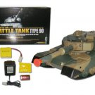 DEFENSE FORCE TYPE 90 Radio Remote-Control R/C Airsoft Battle Tank 1/24 M190
