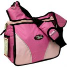 Large Messenger Sling Body Bag Backpack Binder Bag Pink