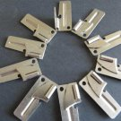 P38 P-38 Can Opener 10 Piece Lot GI Type Folding Military Army Camping Pocket