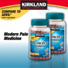 Ibuprofen 200mg 1000 ct Kirkland Pain Relief Tablets Medicine Relieves Aches
