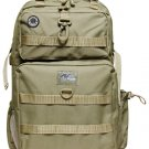 Large TAN Backpack Hunting Day Pack DP321 Camping TACTICAL Laptop Bag Army