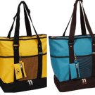 Everest Deluxe Shopping Tote Beach Bag Colors Shopper Big Dry Insulated Compart