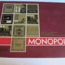 Monopoly Board Game RED BOX Parker Brothers Bankers Tray Edition VTG Big  1964