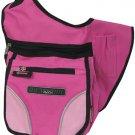 PINK Messenger Sling Body Bag Backpack Purse Hot @
