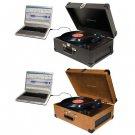 Crosley Keepsake USB Recorder Record Player Turntable Convert Vinyl To CD Digita