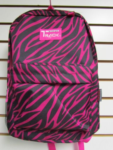 PINK ZEBRA  Backpack School Pack Bag 205  Back Pack Free Shipping New Stripes