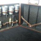 Portable Pub The Original Trav L Bar  Ever Ware Executair Ice Bucket Shaker VTG
