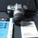 Minolta Maxxum 4 35mm Film Camera 28-80mm AF Lens