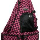 Messenger Sling Body Bag 1 Strap Backpack Fuchisia