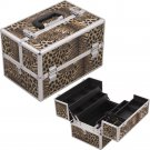 Nail Polish Case  Leopard Pro Beauty Case  Beauty Makeup Train  Organizer Pro