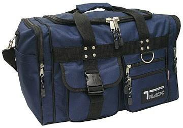Small Navy DUFFELBAG  DUFFEL Gym  BAG Bags New Carry On Tote Sport Heavy Duty