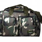 "Medium CAMO DUFFELBAG  DUFFEL Gym  BAG  22"" Camoflauge"