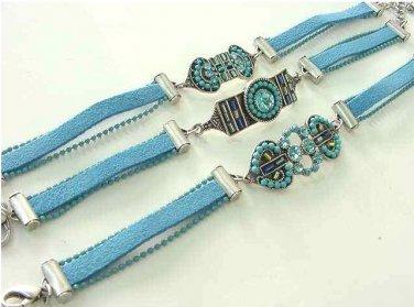 Turquoise Bracelets Lot Of 3 Assorted  Free Shipping Fashion Jewelery