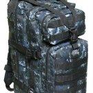 MEDIUM TRANSPORT PACK BLACK DIGITAL Backpack Free Ship  MOLLE Tactical Hunting