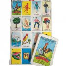 Don Clemente Original Traditional Mexican Bingo Loteria Game 10 Board Cards New